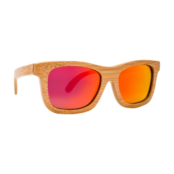 Phoenix - houten zonnebril