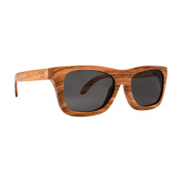 Saint Tropez - Zijaanzicht Houten zonnebril