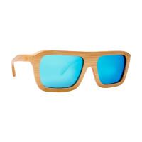 Valencia zijaanzicht - Houten zonnebril